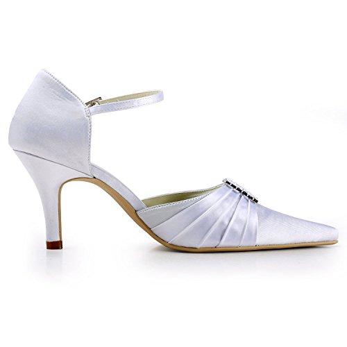 Minitoo , Escarpins pour femme Ivory-7cm Heel