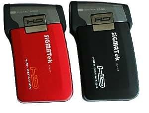 """Sigmatek HDV-510N Caméscope numérique + Appareil Photo 5 Mpix Ecran LCD 3""""- Carte SD 720p 64 Mo Noir"""