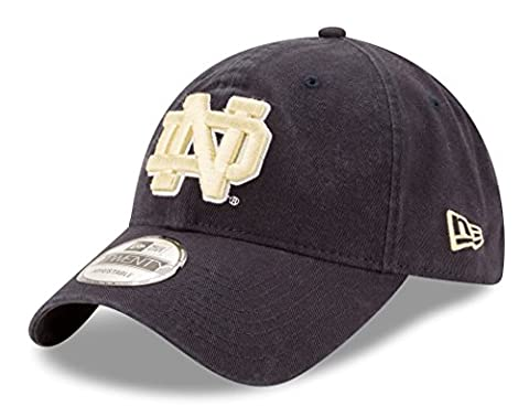 Notre Dame Fighting Irish New Era 9Twenty NCAA Core Classic Adjustable Hat (Irish Ncaa)