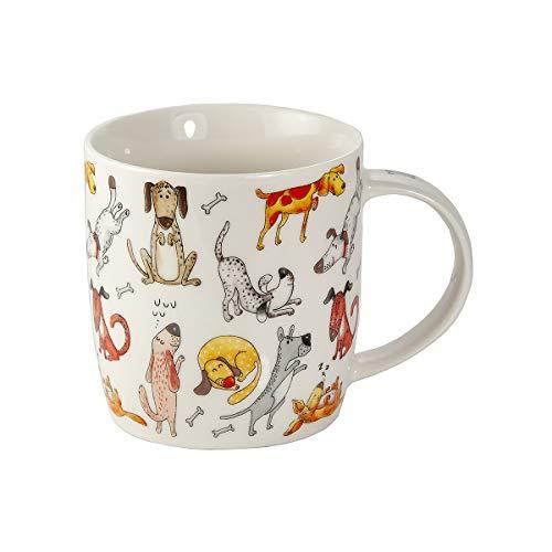 SPOTTED DOG GIFT COMPANY Tasse Hund Kaffeetasse Teetasse Kaffeebecher mit Lustige Hunde Motiv Geschenk für Hundebesitzer Hundeliebhaber Frauen Männer