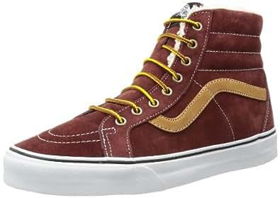 Vans SK8 Hi Reissue, Sneakers Basses mixte adulte - Rouge (Rot), 34.5 EU