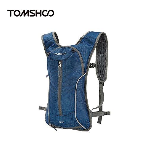 TOMSHOO 2.0L Impermeable Mochila de Hidratación Súper Ligero Bolsa d
