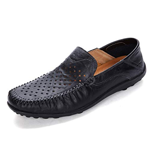 ♥ Loveso♥ Leder Bootsschuh Herren's Casual Schuhe - Männer Mokassin Halbschuhe Bootsschuhe Weich Atmungsaktiv ()