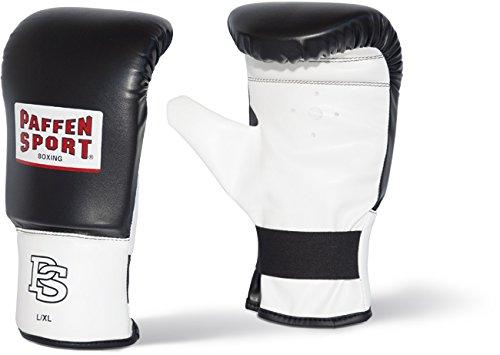 Paffen Sport FIT Boxsack-Handschuhe; schwarz/weiß; GR: S/M