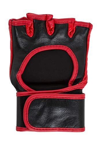 BENLEE Rocky Marciano Unisex- Erwachsene DRIFTY Leather MMA Gloves, Black, L