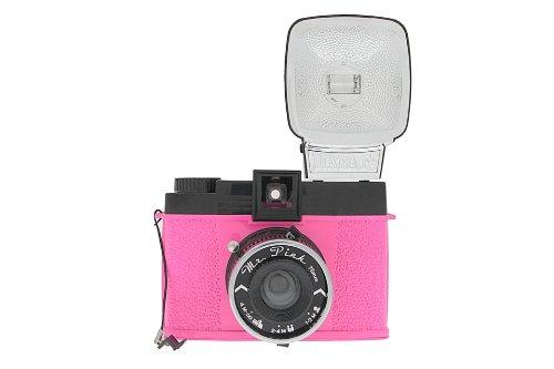 Lomography Diana F+ Kamera Mr. Pink