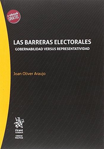 Las Barreras Electorales (Serie Ciencia Política)