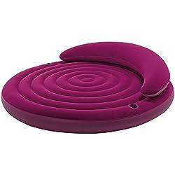 INTEX 68881 Pouf Gonflable, Vinyle, Violet, 191cm x 53cm