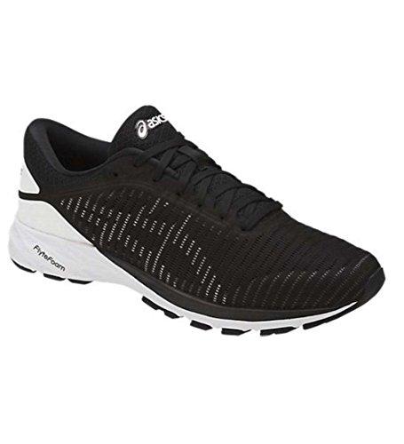 Asics Mens Dynaflyte 2 Running Shoe 2 Black/White/Carbon Size 9
