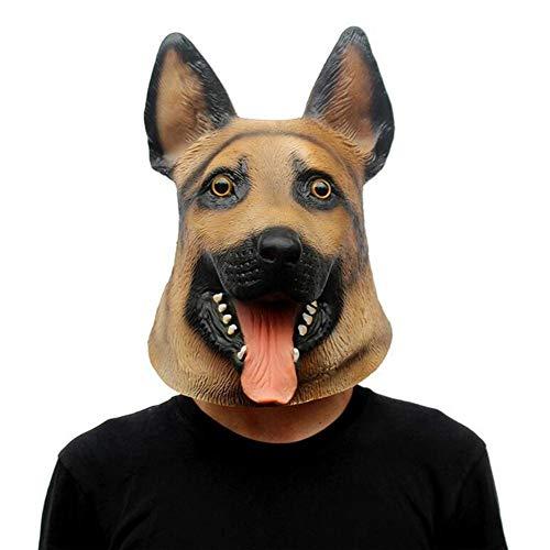 Rwdacfs Masken für Erwachsene,Horror lustige Hirten Maske Party Leistung Requisiten Halloween Abschlussballkleid bis
