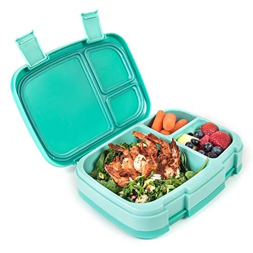 Bentgo Fresh - Auslaufsichere Lunchbox   Bento Box mit 4 Unterteilungen, Aqua