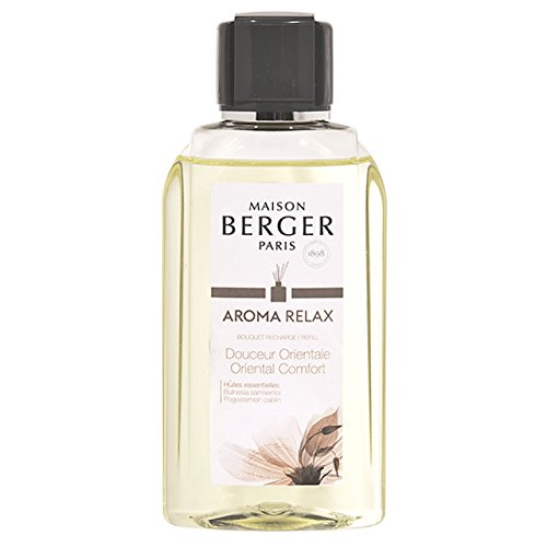 Parfum Berger Collection AromaRelax - Recharge de 200ml, bouquet parfumé 200ml
