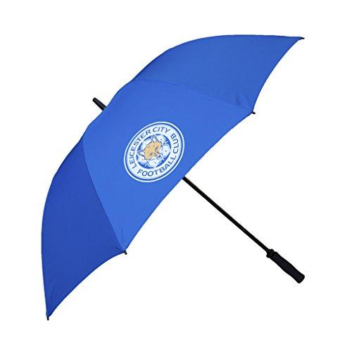 Leicester City Single Canopy Golf Regenschirm–Blau