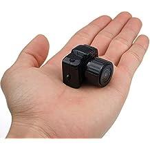 Mengshen más pequeño 1080 * 720p super mini mini cámara de vídeo grabadora videocámara DVR (negro) MS-Y3000