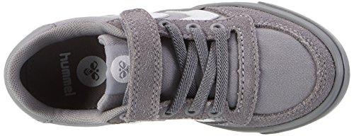 Hummel Slimmer Stadil, Sneakers Basses Mixte Enfant Gris (Frost Grey)
