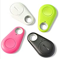 Hilai Water Drop inalámbrico Bluetooth Smart Key Finder or Anti-Lost Tracker Alarm GPS (White 1pc