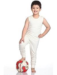 Splash Baby (Unisex) Winter wear Set - Upper & Lower, Round Neck, Sleeve Less (Jacquard)
