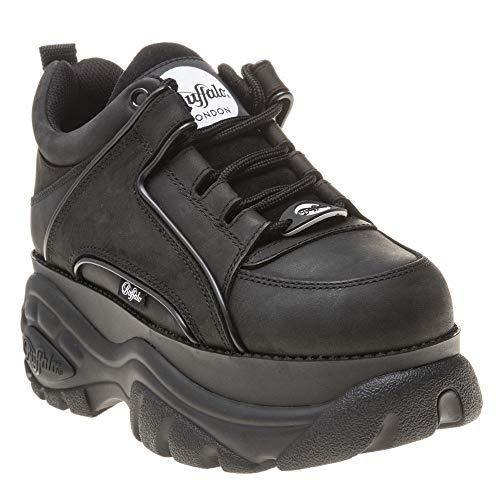 Buffalo 1339-14 2.0 Damen Sneaker, Black, 39 EU