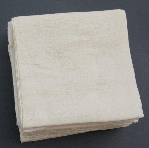 10-er-Pack-Mullwindeln-70x70-cm-wei-100-Baumwolle-WINDELKISTE