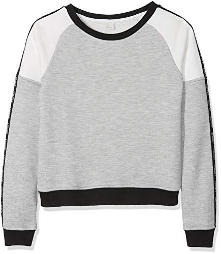 ESPRIT KIDS Mädchen RM1505508 Sweatshirt, Grau (Heather Grey 203), 152 (Herstellergröße: M)