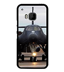 PrintVisa Designer Back Case Cover for HTC One M9 :: HTC One M9S :: HTC M9 (Military Bomber War Plane )