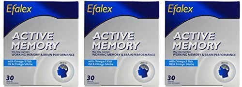 (3 PACK) - Efamol - Efalex Active Memory | 30's | 3 PACK BUNDLE by Efamol