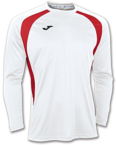 Champion Athletic Sneakers (JOMA T-SHIRT CHAMPION III WHITE-RED L/S 8XS-7XS)