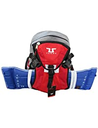 Tusah Mochila para Taekwondo Pro-Back Pack con Puerto coraza Exterior para Artes Marciales Taekwondo