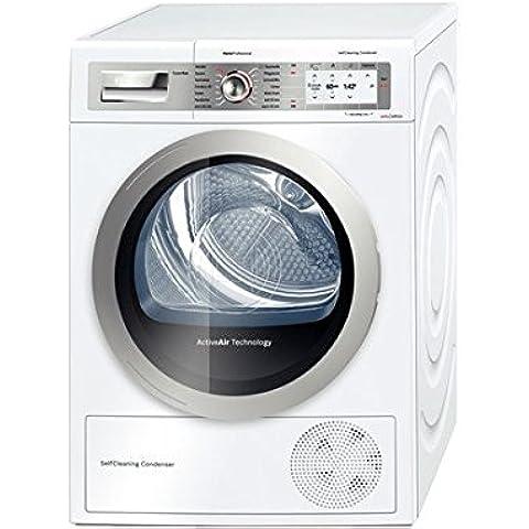 Bosch WTY887W4CH Independiente Carga frontal 8kg A++ Plata, Color blanco - Secadora (Independiente, Carga frontal, Bomba de calor, A++, Plata, Color blanco, B)
