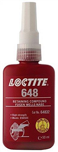 Fügekleber Loctite 648, 50ml Flasche LOCTITE