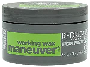 Redken Maneuver Working Wax For Unisex - 3.4 Ounce