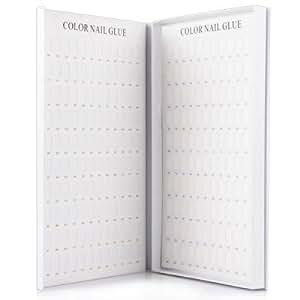 240 Blanks UV Nail Gel Polish Color Book Color Card for Nail Store/Salon