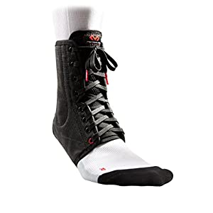 McDavid Lightweight Ankle Support | Ankle Brace with Laces and Spring Steel Stays | Fits Left and Right