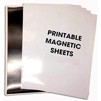 A4 Brillant Flexible Magnétique feuilles spellbinder dies découpe craft arts Noir