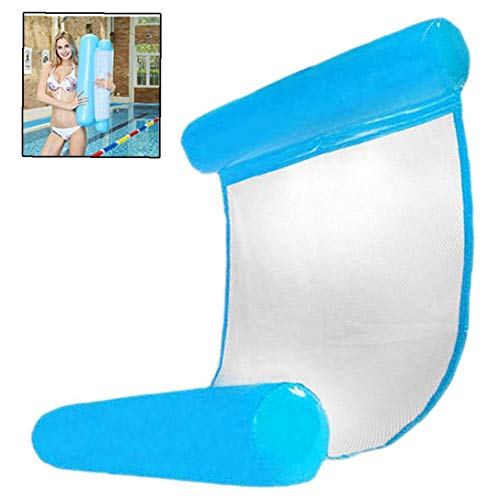 Aufblasbare Pool Wasser-Schwebe Hammock Float Lounger Schwebebett Stuhl Swimmingpool Aufblasbare Hammock Bett-Pool-Party-Spielzeug