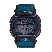 Casio Mens Quartz Watch, Digital Display and Silicone Strap GD-400-2