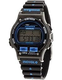 b440db690079 Timex Ironman Triathlon Reloj de Mujer de Cuarzo con Esfera Pantalla  Digital y Correa de Goma