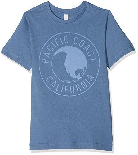 ESPRIT Jungen T-Shirt RL1023602, Blau (Pastel Blue 412), 152 (Herstellergröße: M)