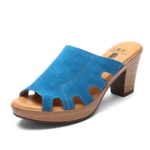 Grezzo in estate con sandali e ciabatte/Sandali tacco alto/Romani Sandali e ciabatte C