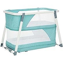 LIU UK Baby Changing Table Cuna portátil, instalación Gratuita Shaker multifunción, Cuna Plegable,