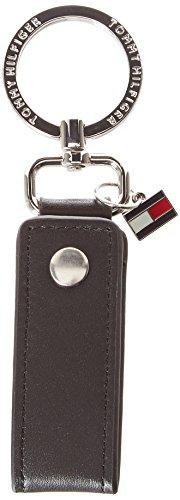 Tommy Hilfiger Herren Snap Keyfob Schlüsselanhänger, Schwarz (Black), 3x12.3x3.8 cm