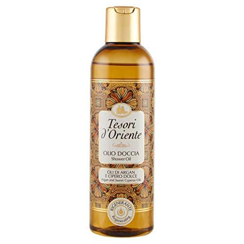 TESORI DORIENTE olio doccia con Oli di ARGAN E CIPERO DOLCE 250ml