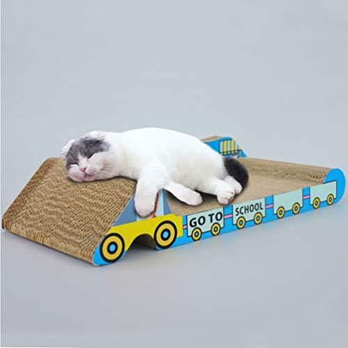 XXDYF Cat Scratch Divano Lounge Scrath Grande Piastra Orizzontale Ondulato tiragraffi Divano per Soddisfare Le preferenze del Tuo Gatto