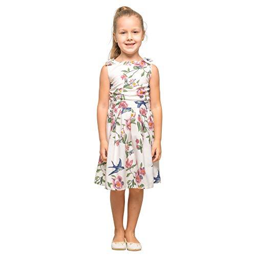3ed96d18453e26 Miss Lavish London Kleider für Mädchen und Kinder, Vintage-Stil, mit  Schleife,