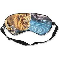 Lion Eat Water Sleep Eyes Masks - Comfortable Sleeping Mask Eye Cover For Travelling Night Noon Nap Mediation... preisvergleich bei billige-tabletten.eu
