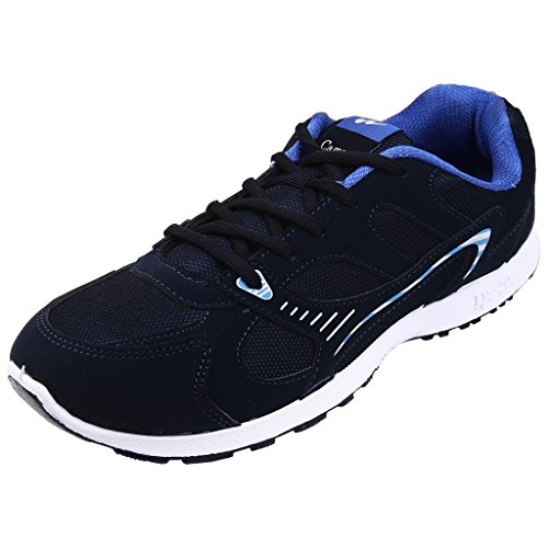 Action Campus Men's COBRA Series Blue Royal Blue Synthetic and Nylon Mesh Sports Shoes 10UK  available at amazon for Rs.424