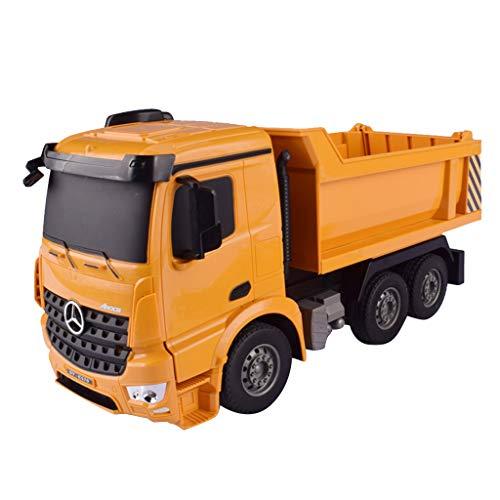 B Blesiya 1:26 RC Kraftfahrzeugkipper Baufahrzeuge Fahrzeuge Spielzeug mit 2,4-GHz Fernbedienung, Tolles Geburtstagsgeschenke für Kinder