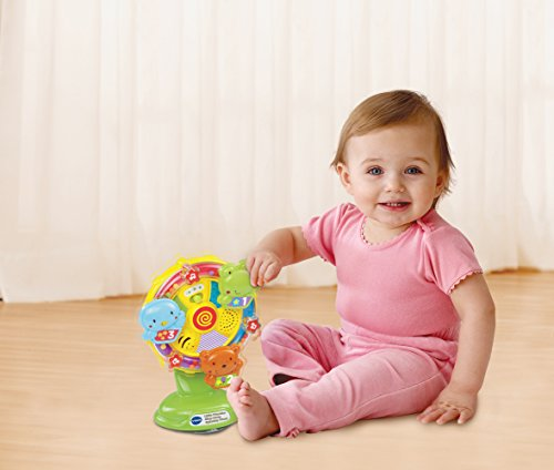 Image of VTech Baby Little Friendlies Sing Along Spinning Wheel
