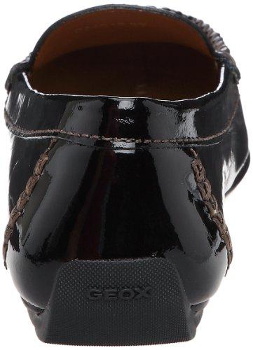 Geox D Italy B, Mocassini donna Nero (Black)