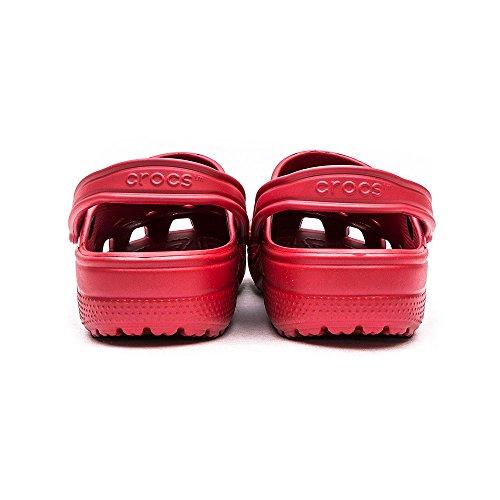 Crocs Cayman , Damen Clogs/Pantoletten Red (Pepper Red)